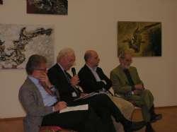 Ivano Dionigi, Lorenzo Sasso, Gianfranco Maraniello, Bruno Pinto