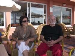 Bruno insieme a Gianna Poli, Casablanca, 2006