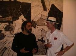 Stefano Massari e Jean Soldini, mostra di Pinto a Palazzo Ducale, 2012