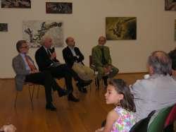 Donazione del 'Il Ceppo' - MAMbo - I.Dionigi, L.Sassoli, G. Maraniello e B.Pinto