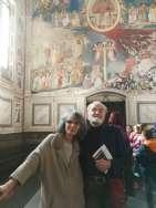 Bruno e sua moglie Gianna - Cappella degli Scrovegni, Padova 2018
