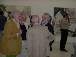 Inaugurazione mostra Fondazione Mazzotta - Milano 2005